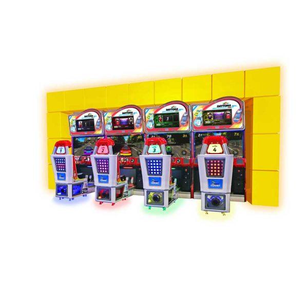 Sega Daytona Championship (4 P) Video Simülatör